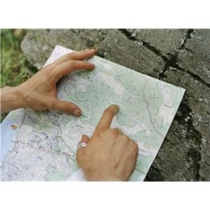 Road Map w Hands
